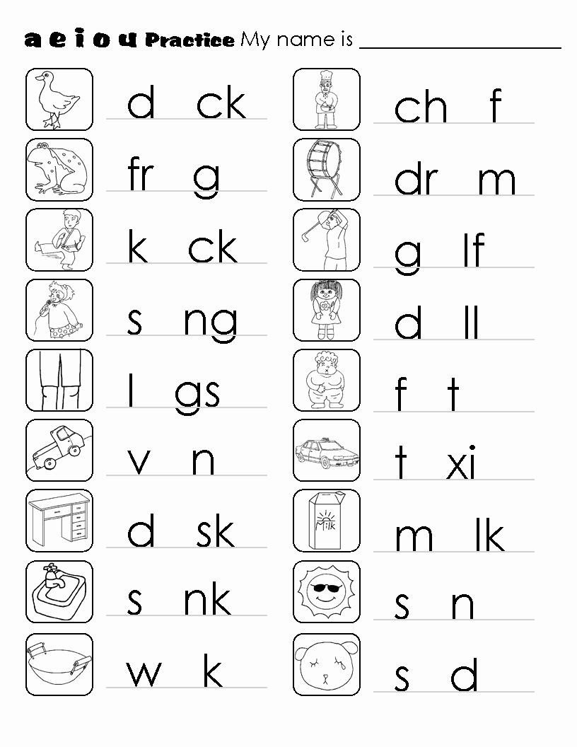 1st Grade Phonics Worksheets Pdf Phonics Worksheets Pdf Awesome Kindergarten Phonics