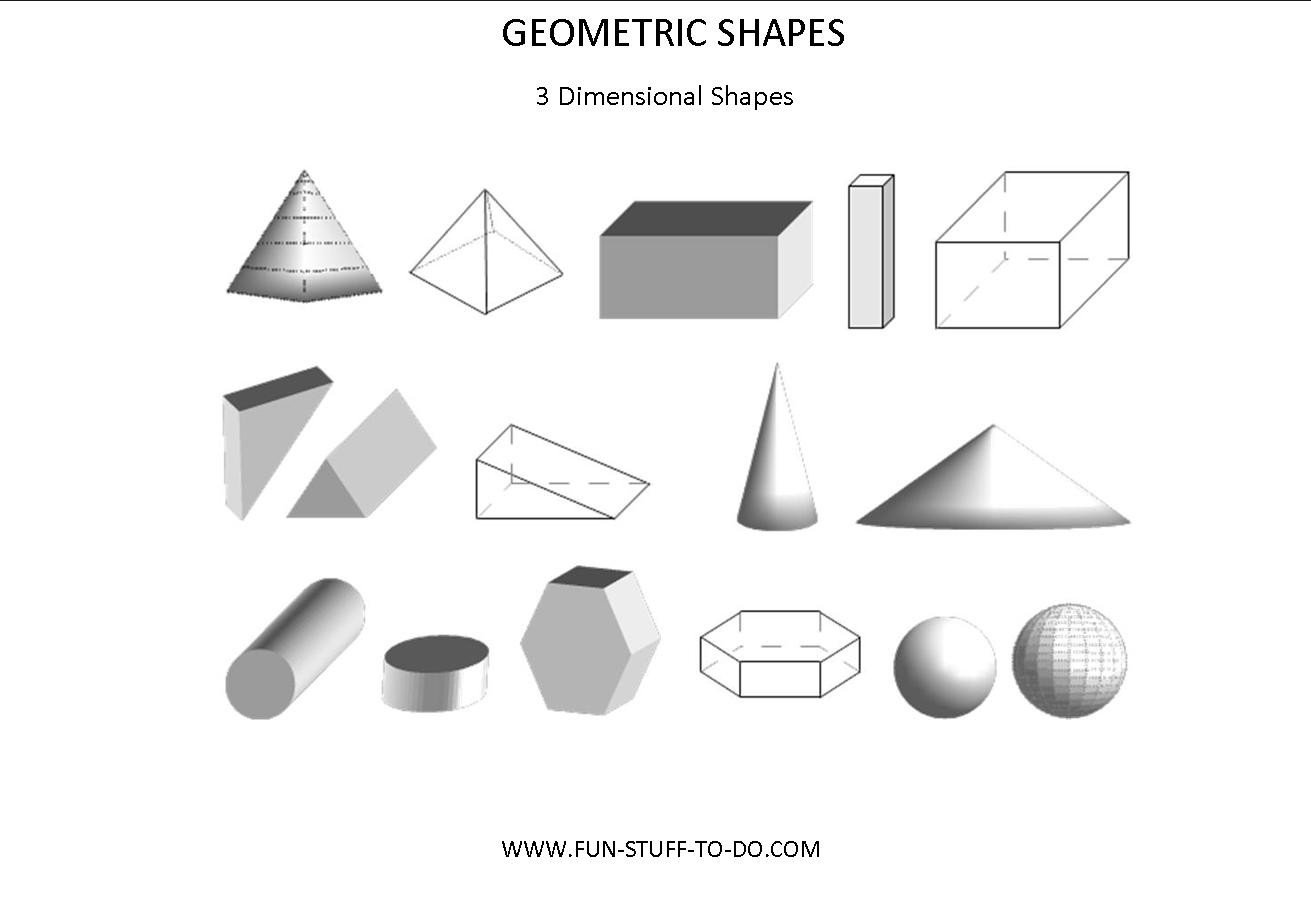 Geometric Shapes 3D