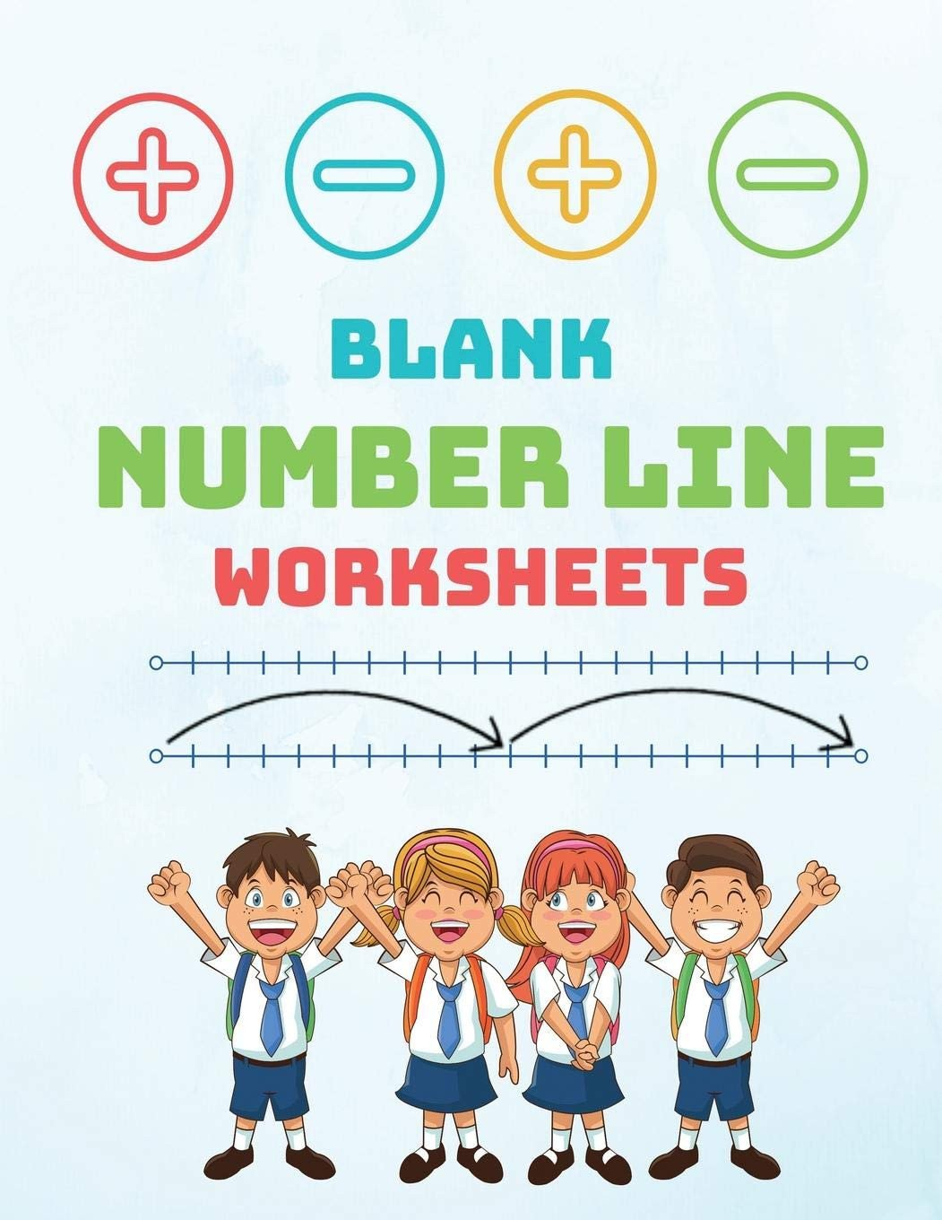 3rd Grade Number Line Worksheets Blank Number Line Worksheets Number Lines for Kids to