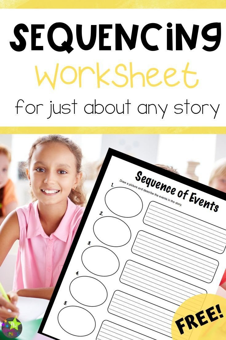 4th Grade Sequencing Worksheets Free Sequencing Worksheet