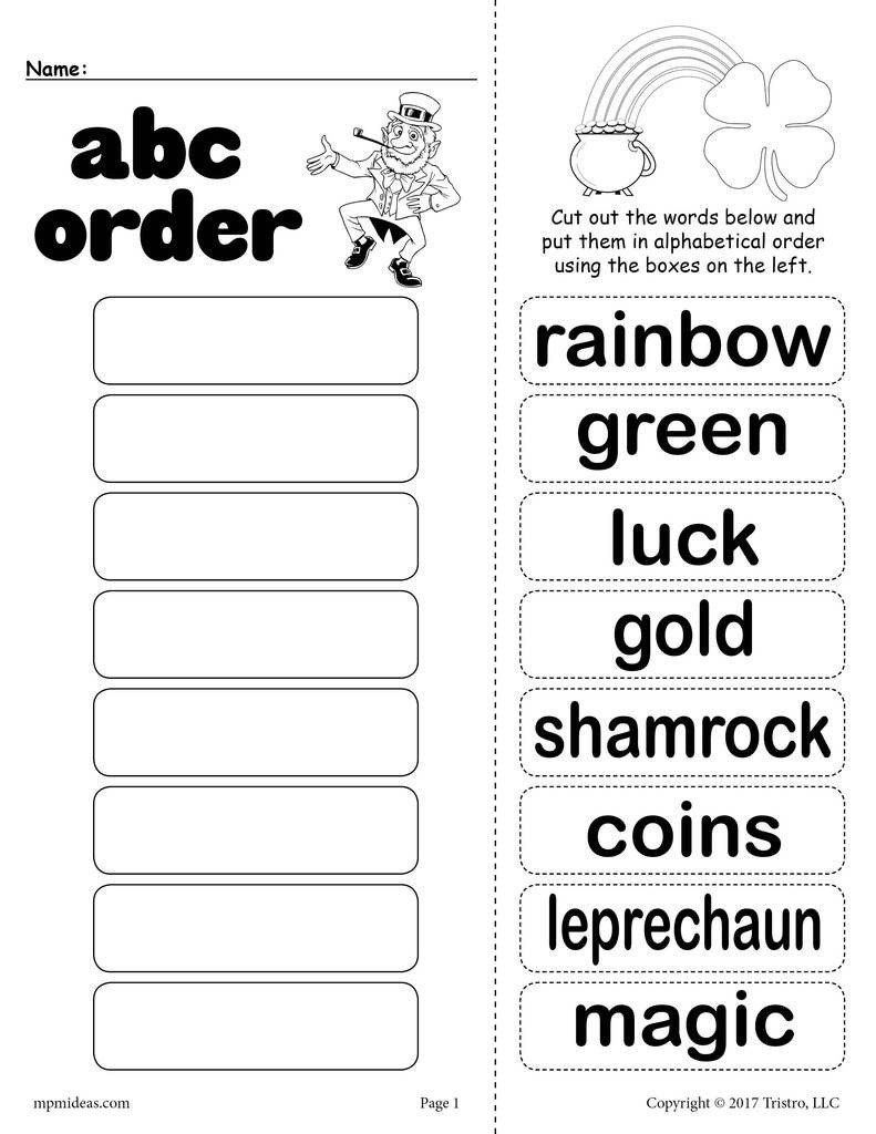 Abc order Worksheets Kindergarten Pin On Printable Worksheet for Kindergarten