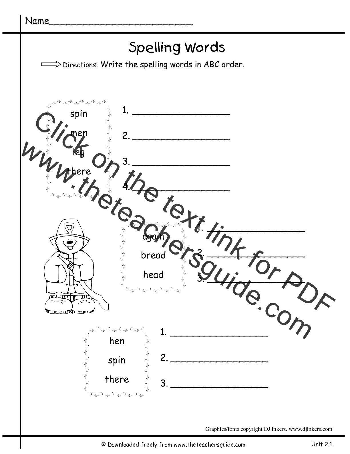 Abc order Worksheets Kindergarten Wonders First Grade Unit Two Week E Printouts Worksheets