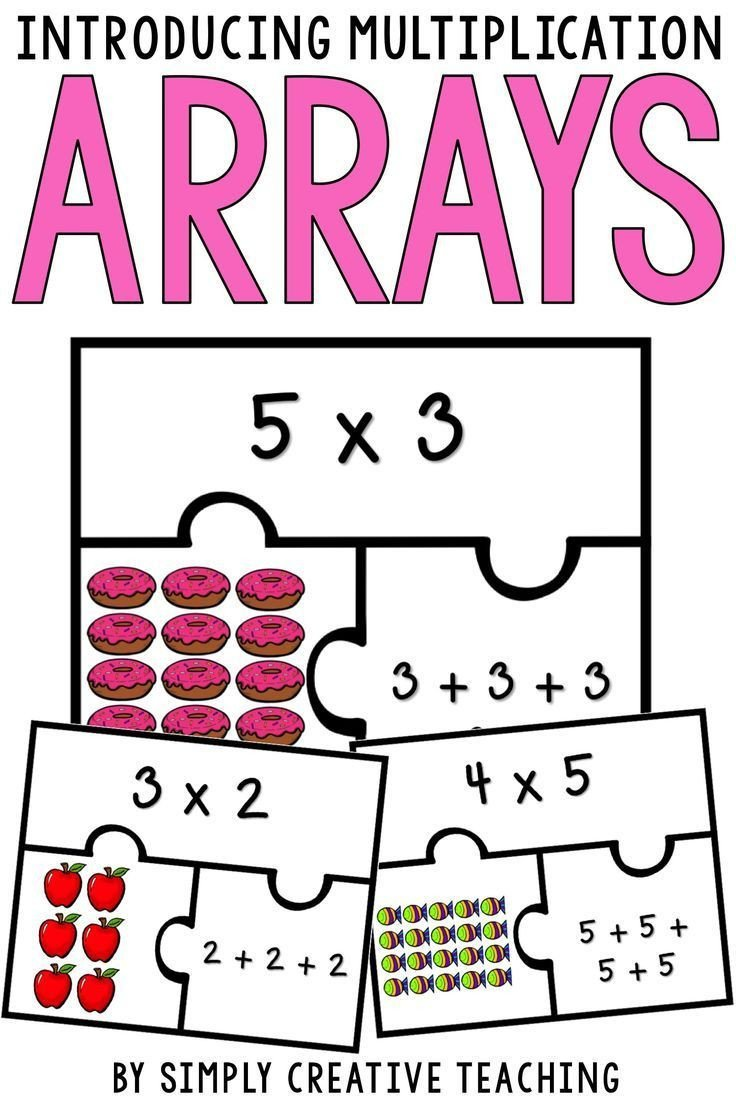 Arrays Worksheets Grade 2 Introducing Multiplication with Arrays Repeated Addition