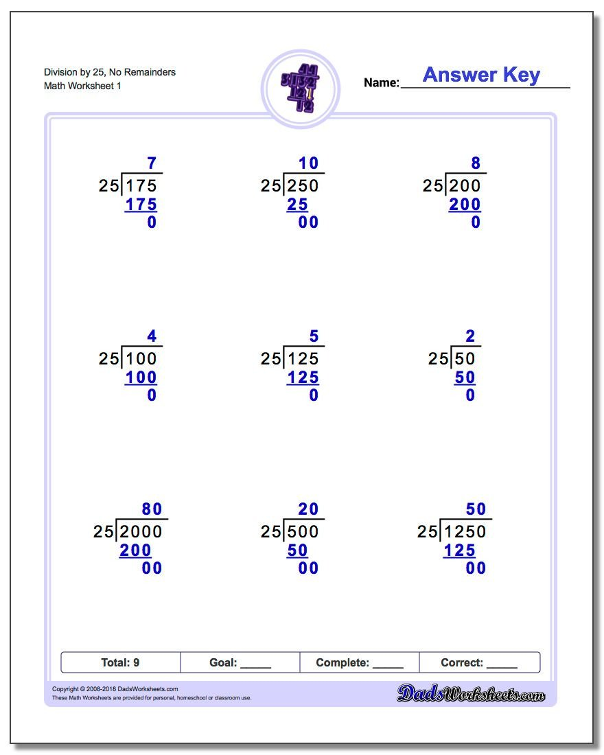 Beginner Division Worksheets with Pictures Long Division Worksheets