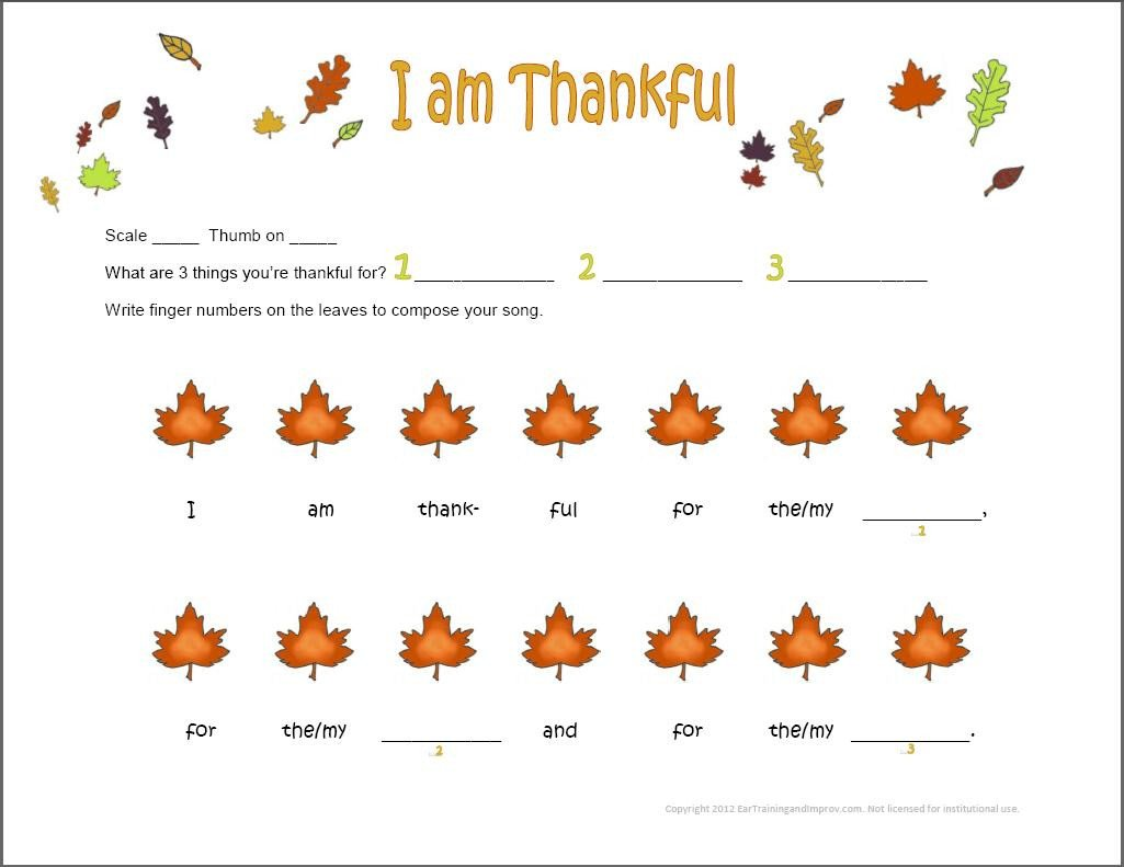 Beginner Piano Lesson Worksheets Thanksgiving Music Worksheets 9 Fun Free Printables for Kids