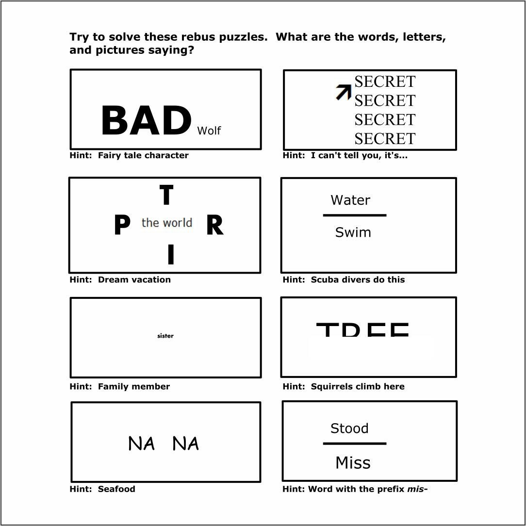 Brain Teasers for Kids Worksheet Brain Teasers Worksheets organization