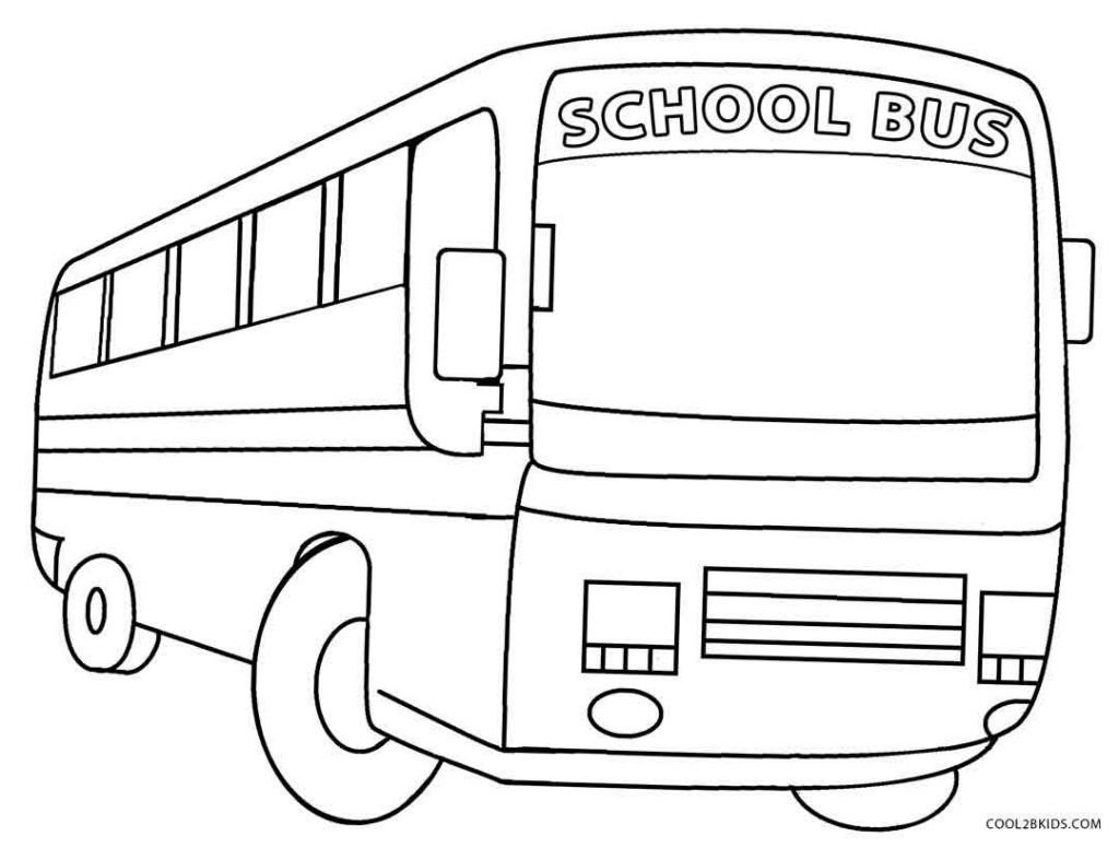 printable school bus coloring page for kids cool2bkids free printable school bus safety worksheets 1024x776