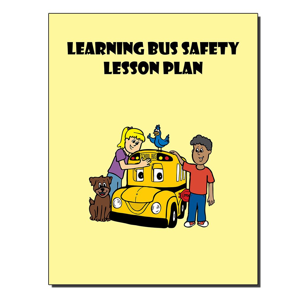 Learning Bus Safety Lesson Plan Cover 1