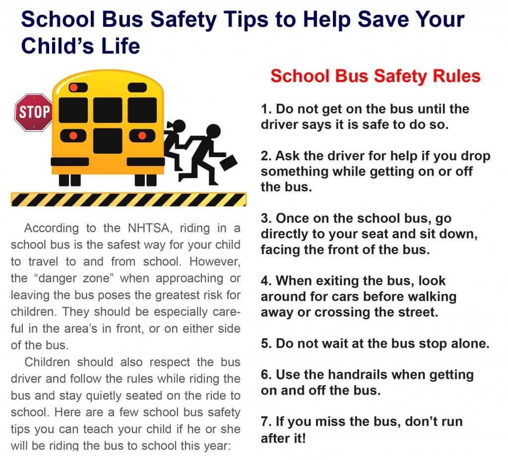 Bus Safety Infographic 1024x928