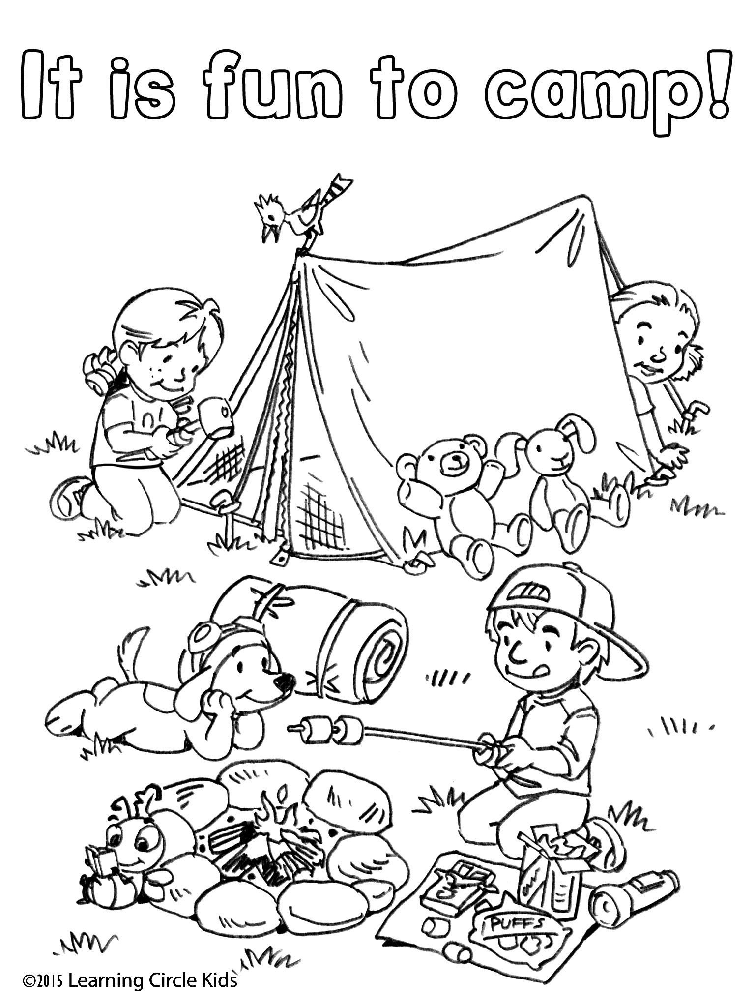 free camping worksheets printable and activities for grammar boot cool math pa volume