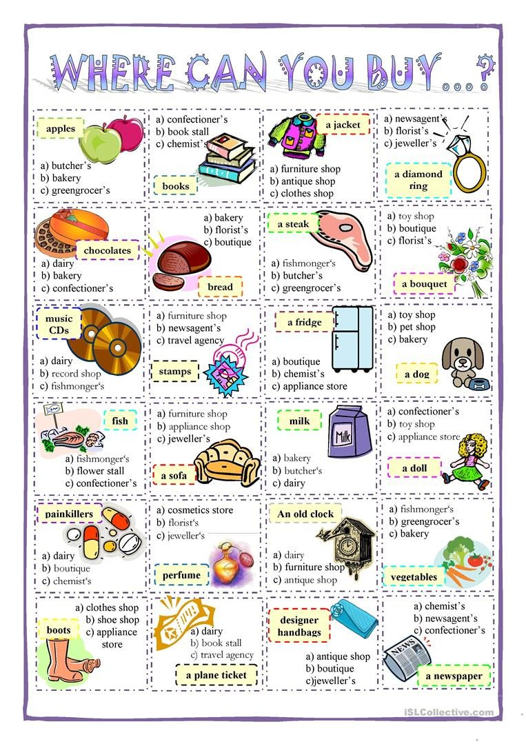 Comparison Shopping Worksheets for Students English Esl Worksheets Most Ed 60 Results