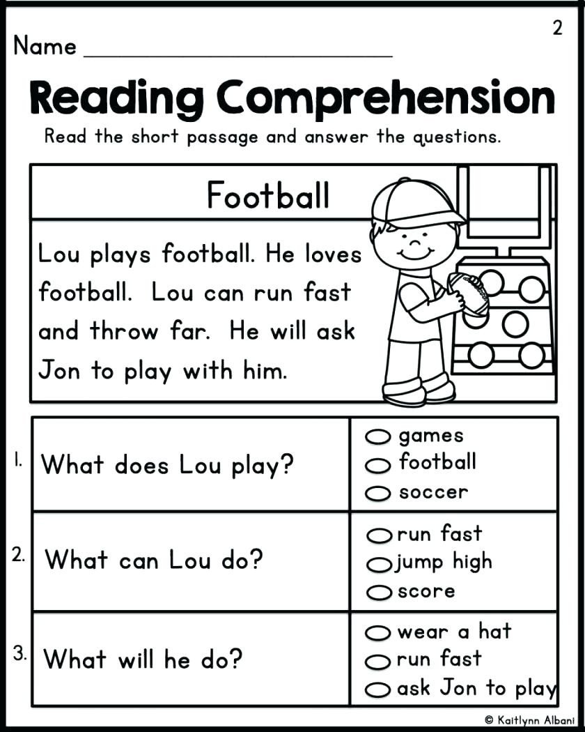 Comprehension Worksheets for Kindergarten Worksheet Biomes Reading Prehension Worksheets