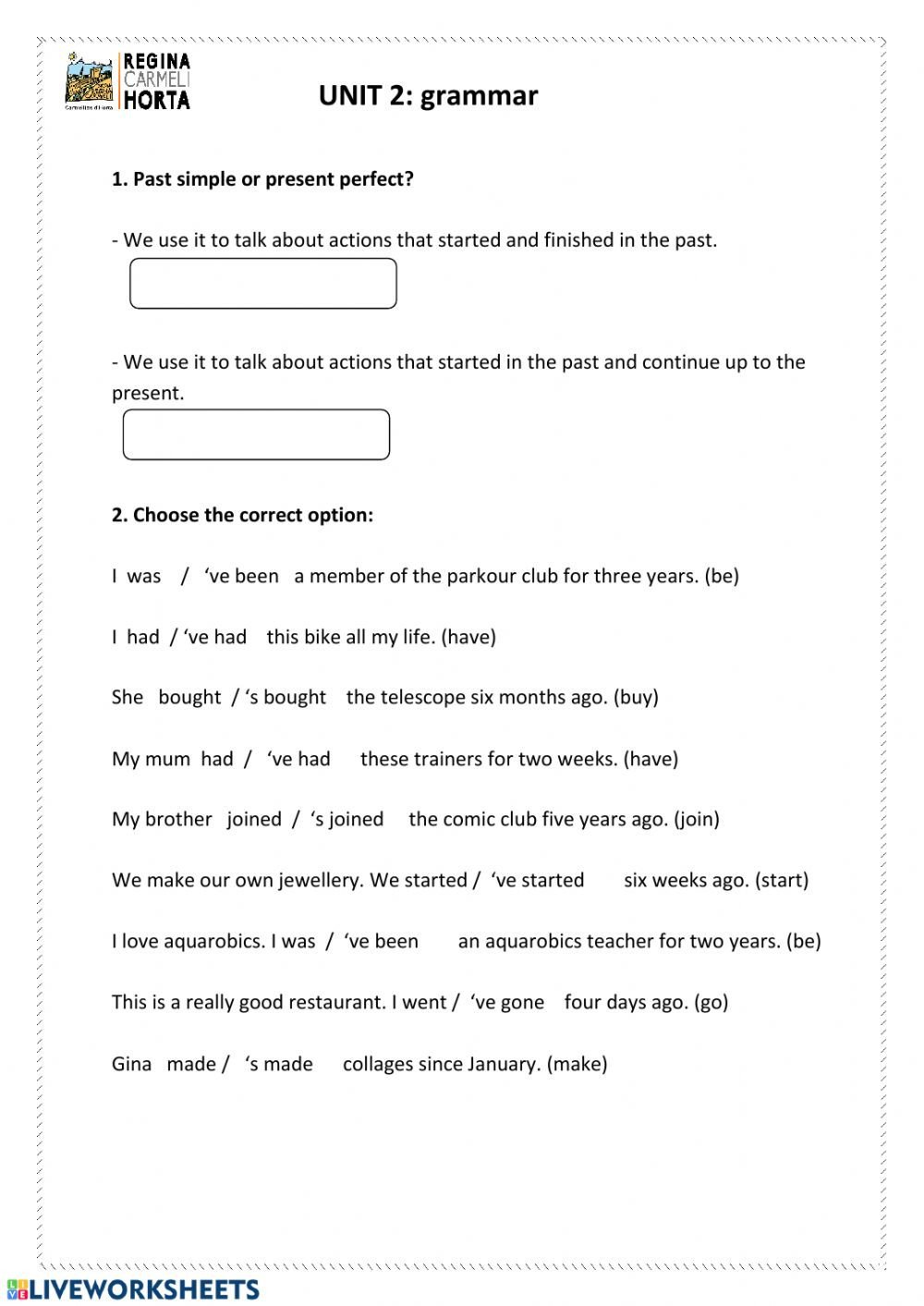 Conjunctions Worksheets 5th Grade 5th Grammar Unit 2 Interactive Worksheet
