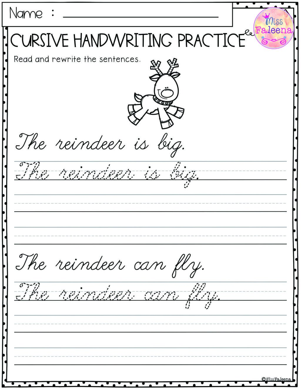 free cursive writing practice sheets for kids generator copy and 1024x1325