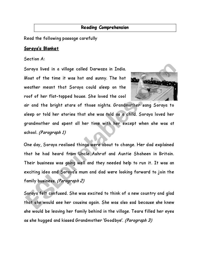 Creative Writing Worksheets for Adults English Prehension Creative Writing Esl Worksheet by