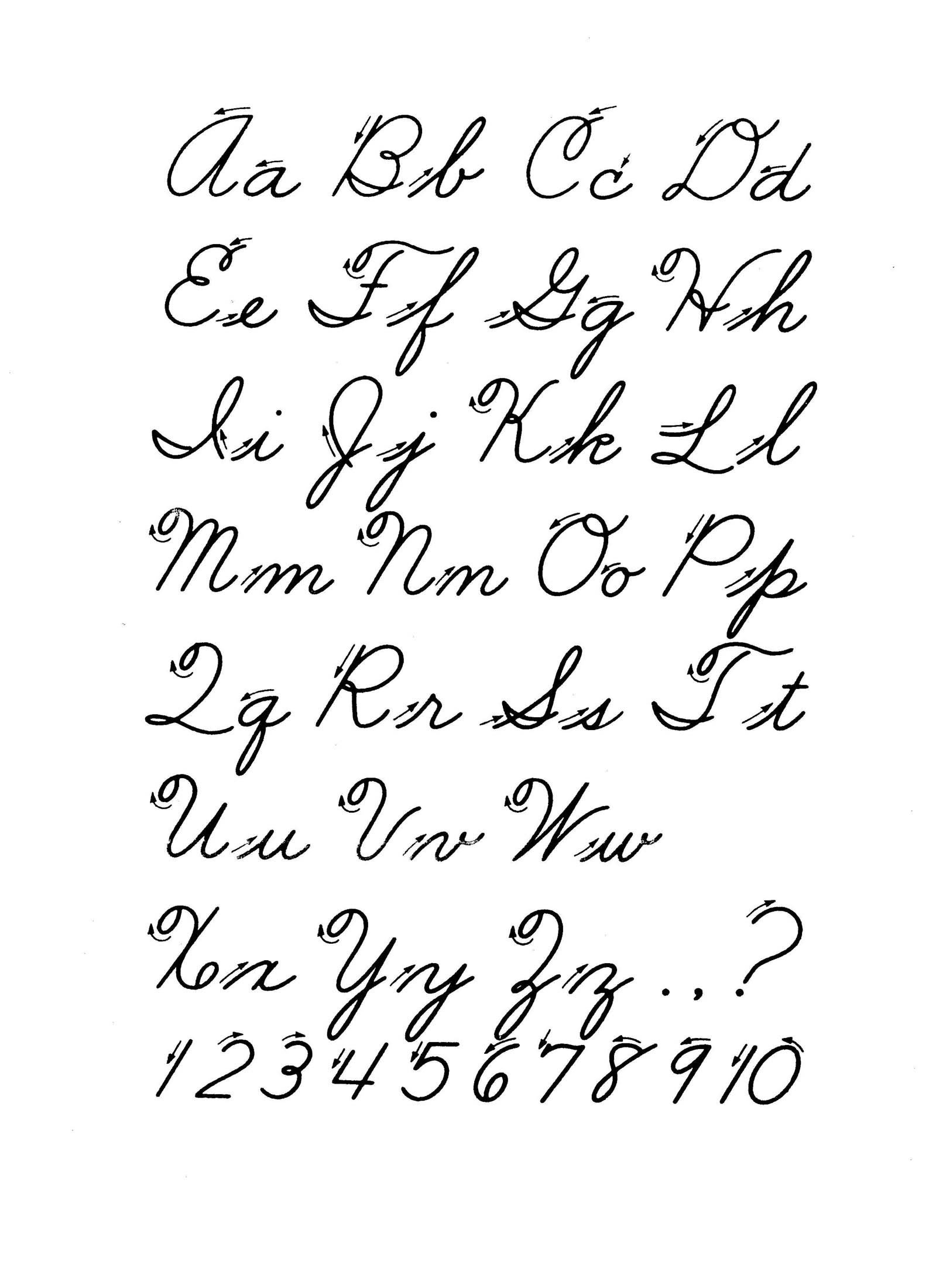 Cursive Alphabet Worksheets Pdf Cursive Letter Worksheet Printable Worksheets and Activities