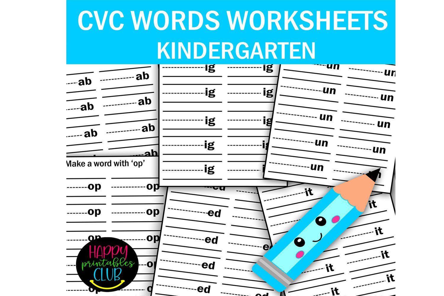 Cvc Words Worksheet Kindergarten Cvc Words Worksheets Kindergarten