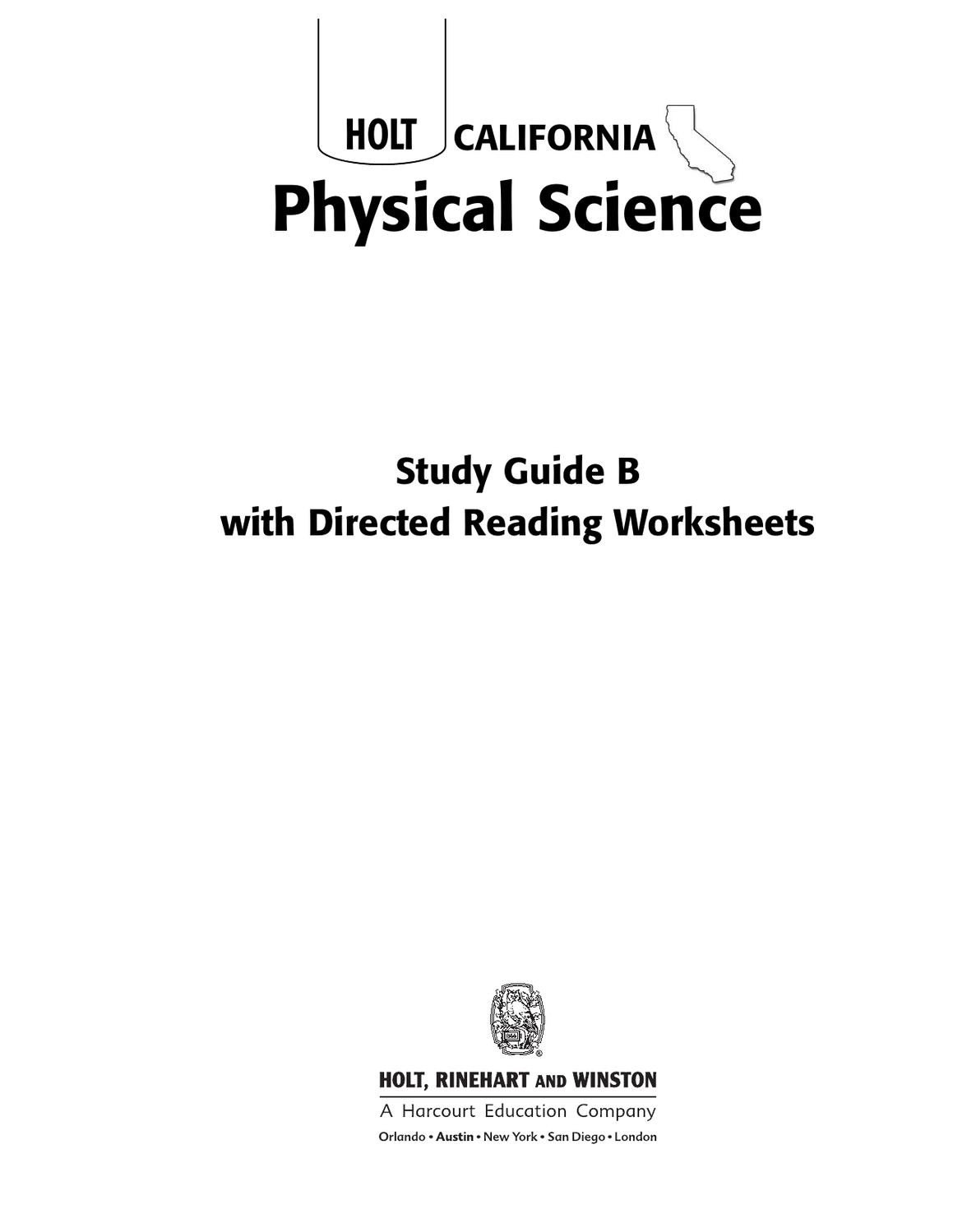 Eighth Grade Science Worksheets 8th Grade Science Worksheets by Lance Green issuu