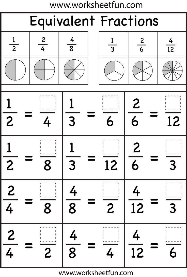 Equivalent Fraction Worksheets 5th Grade Pin On Matem tiques Infantil