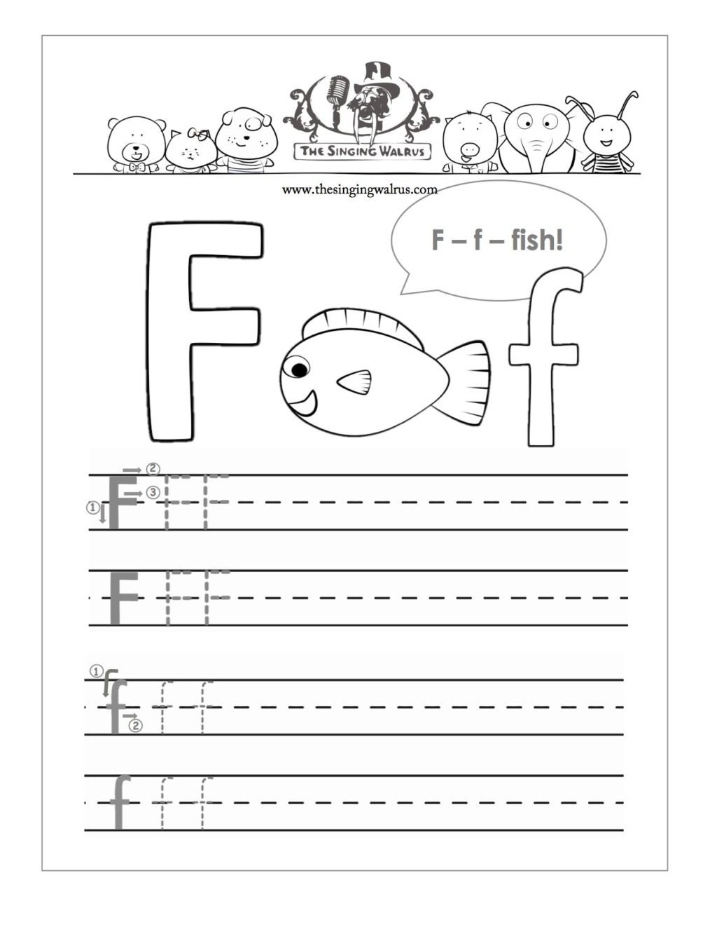 F Worksheets for Preschool Worksheet Preschool Sheets for Alphabetractice Best