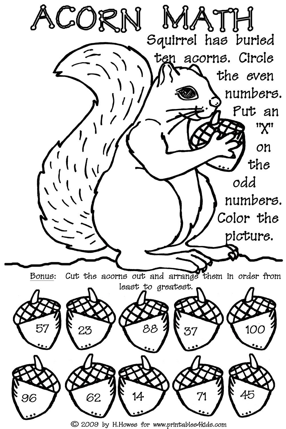 odd and even double digit fall math worksheet printables for free printable worksheets