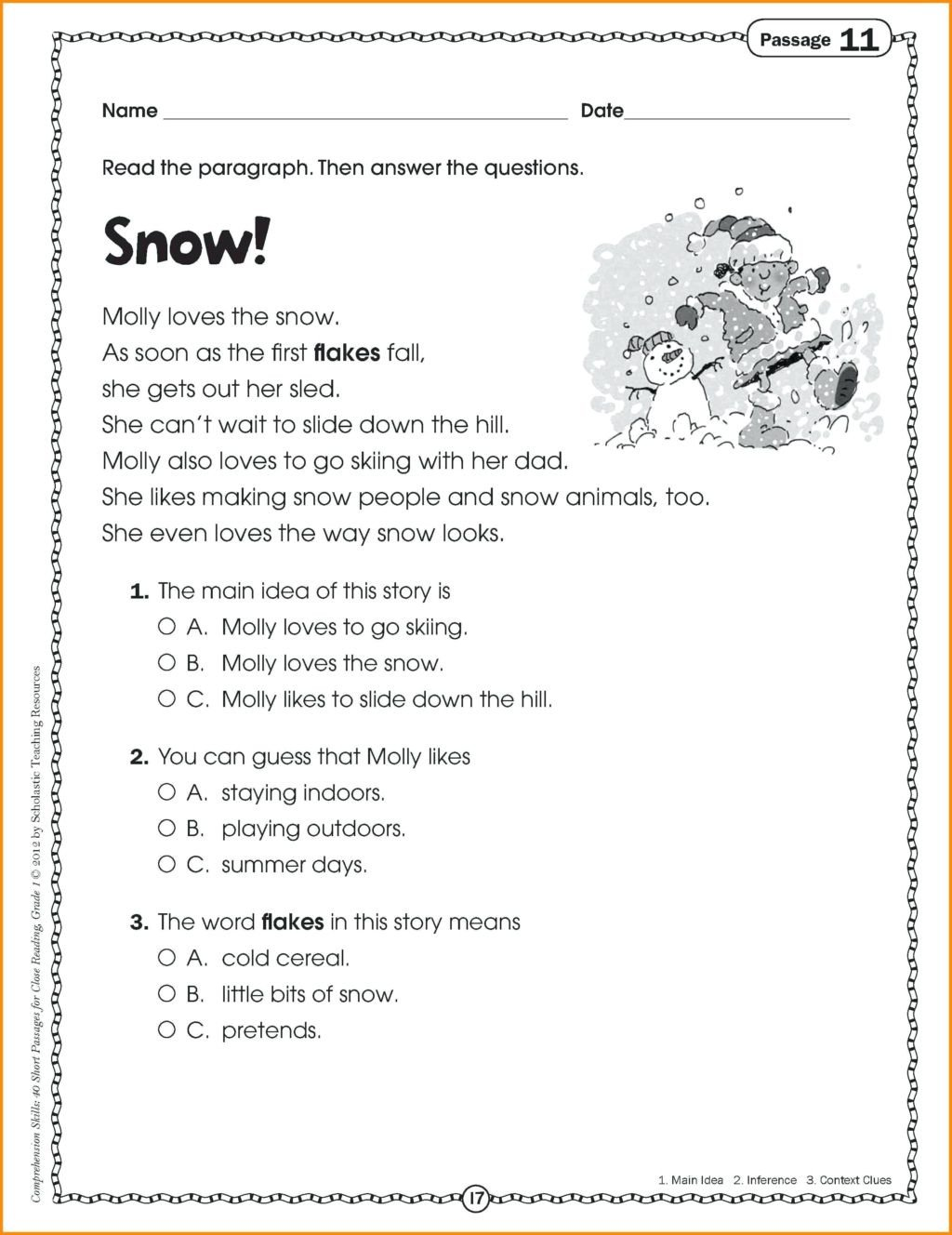 2nd grade readers best ideas of 9 reading passages for grade also 5