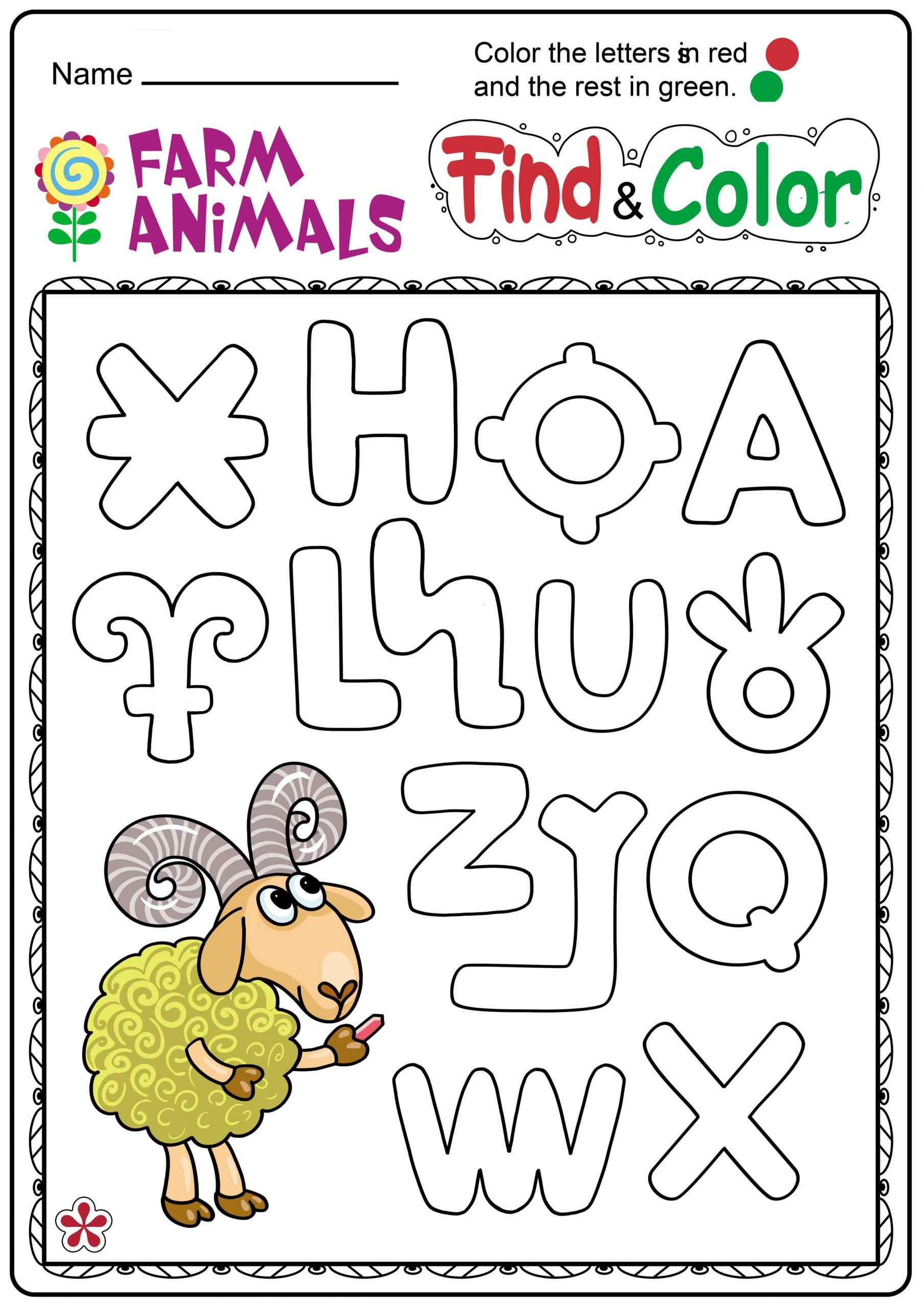 Farm Animals Worksheets for Kindergarten 6 Farm Animals Project Kindergarten Apocalomegaproductions