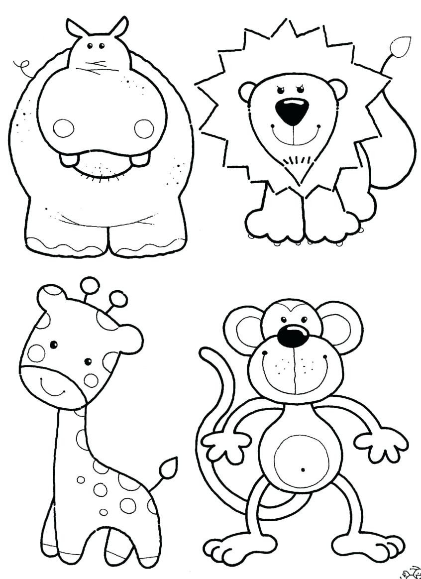 farm animal coloring pages unique animal coloring worksheets kindergarten coursity of farm animal coloring pages