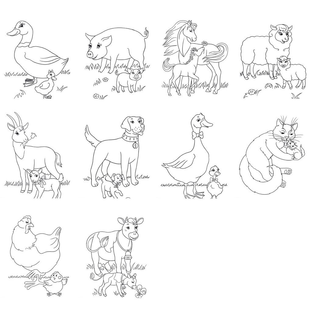Farm Animals Worksheets for Kindergarten Farm Animal Worksheets and Activities