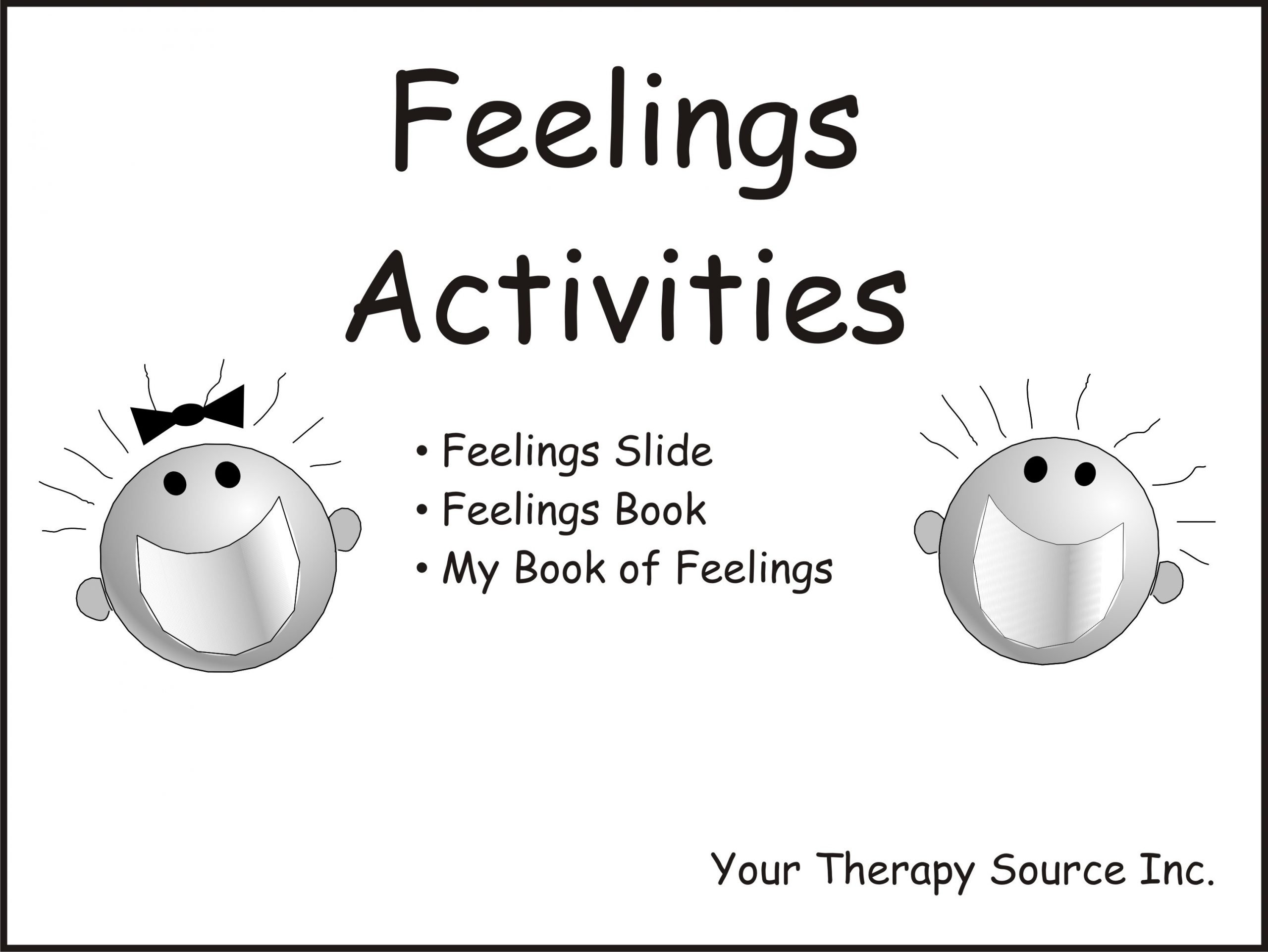 Feelings Worksheets for Kids Feelings Activities