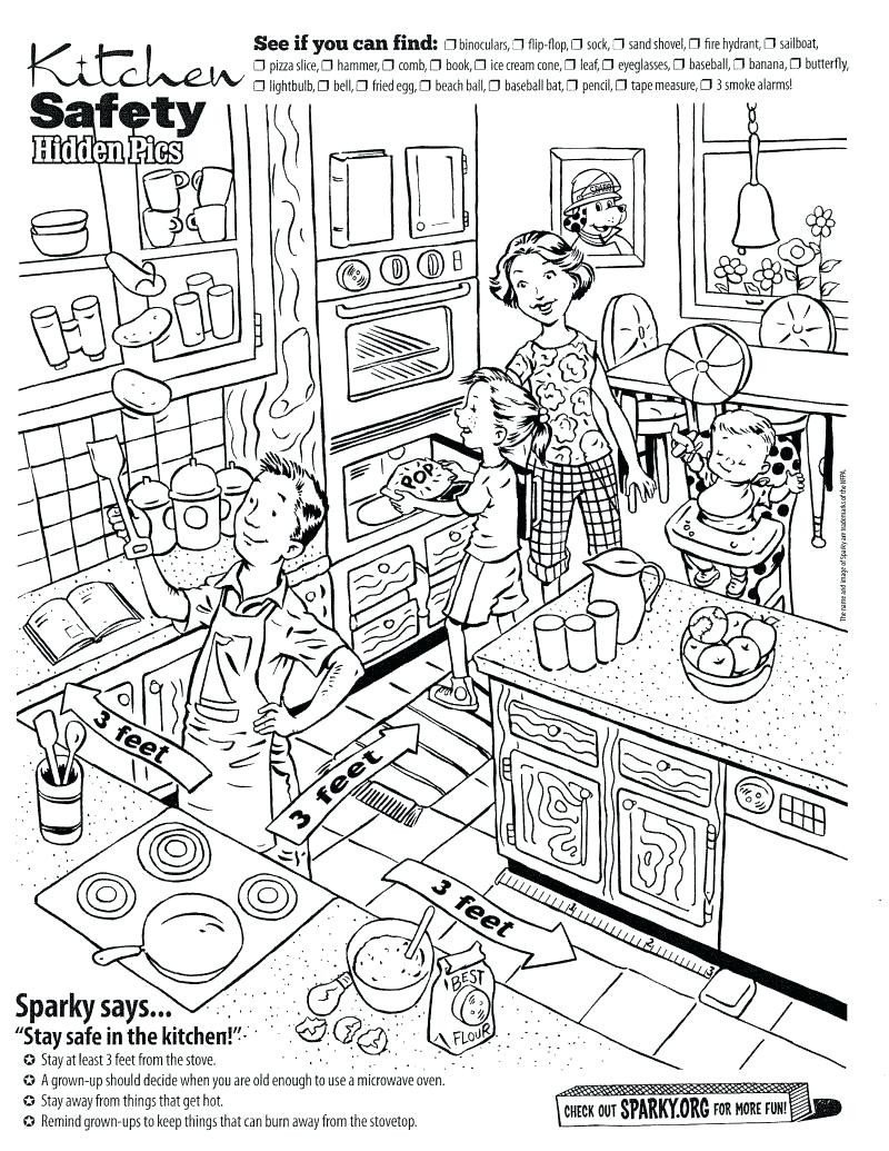 coloring pages fire safety book prevention for kindergarten best images of home worksheets printable activities food sesame