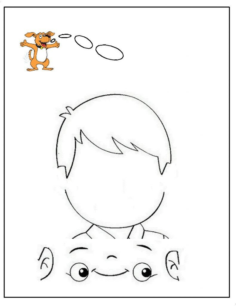 Five Senses Kindergarten Worksheet Coloring foren Dltk Pages Five Senses My Download Sense