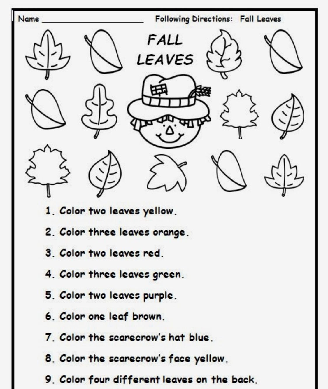 Following Directions Worksheet for Kindergarten Pin by T Dale On Listening Activities Following Directions