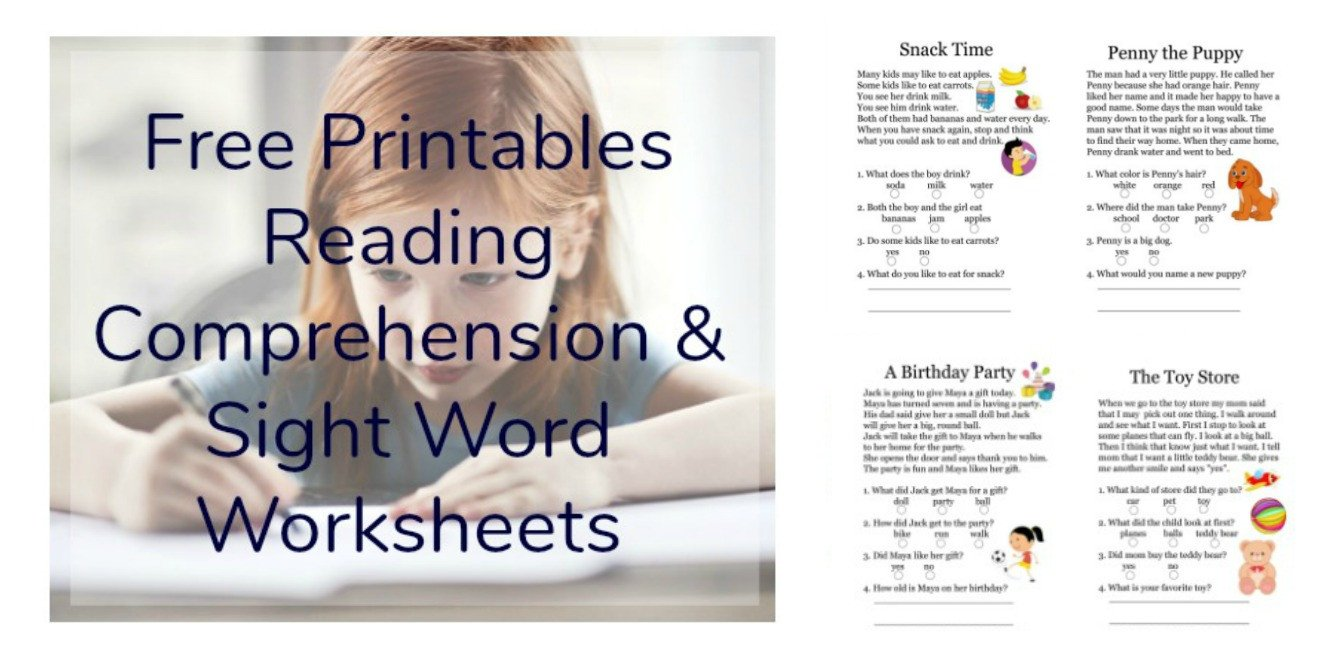 Free 1st Grade Comprehension Worksheets Free Printables Reading Prehension Sheets with 1st Grade
