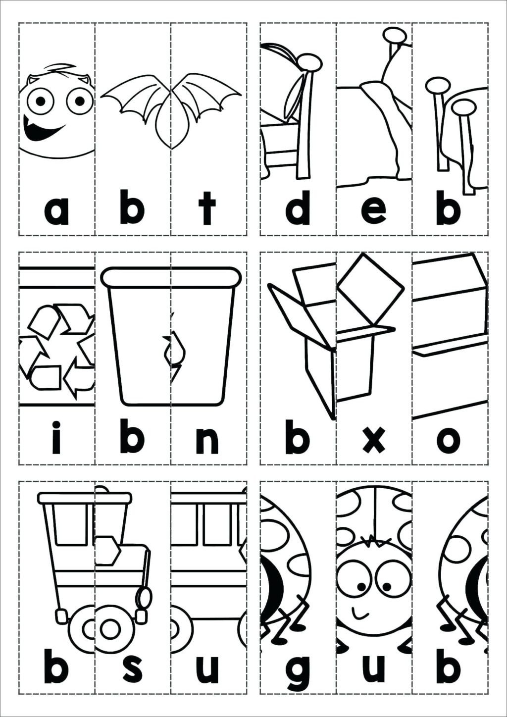reading worksheets for kindergarten tremendous photo ideas free cvc passages words worksheet phonics letter of the week 1024x1448