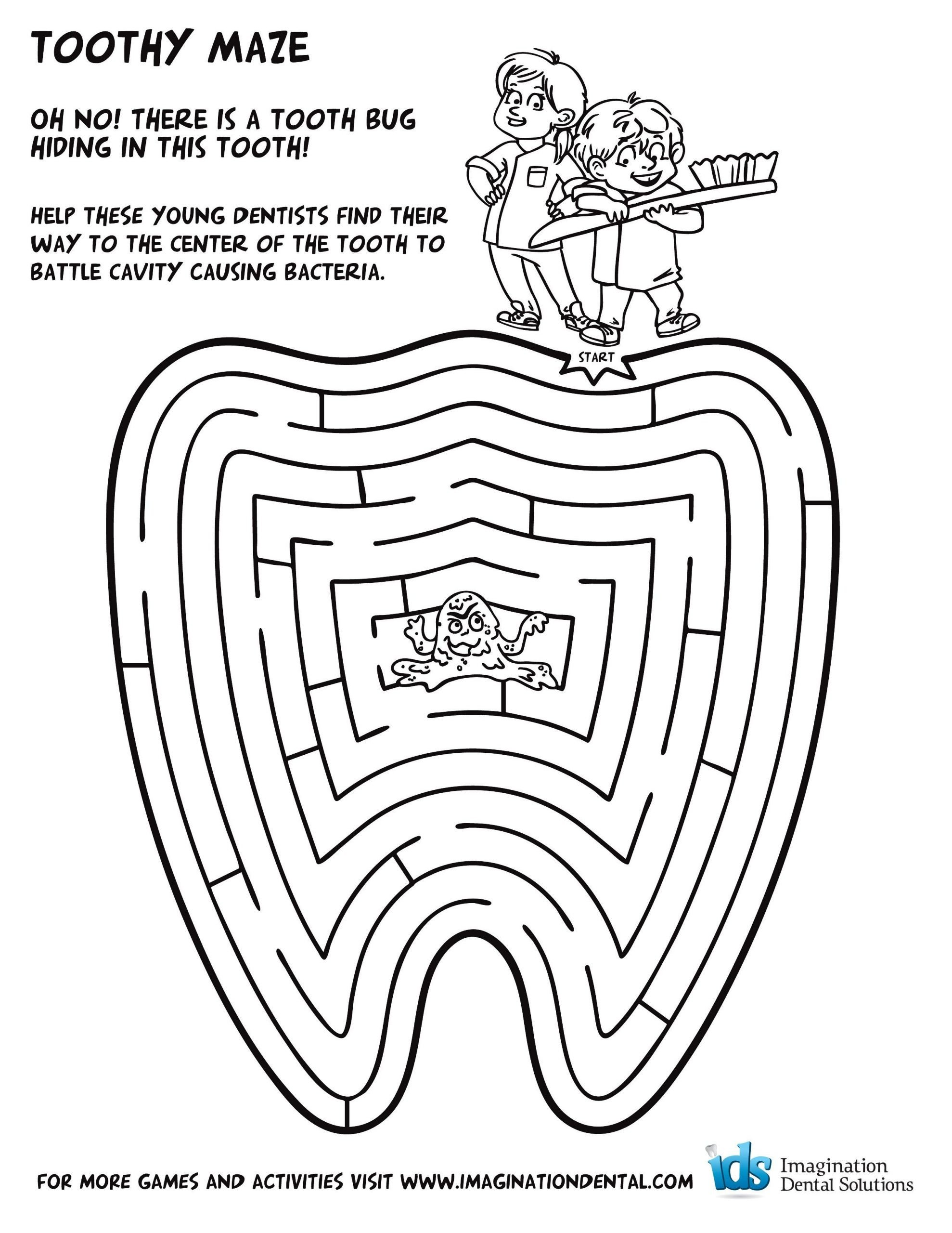 Free Dental Health Worksheets Splendi Dental Coloring Sheets Free Page Google Search with