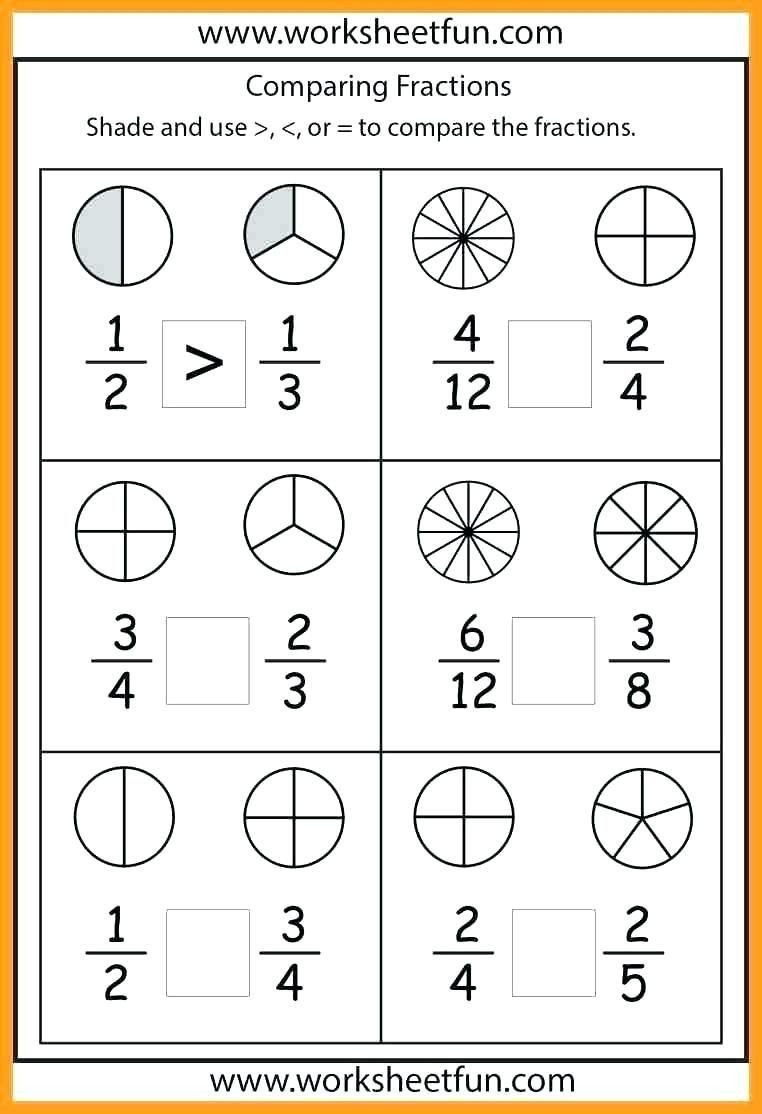 Free First Grade Fraction Worksheets Pin On Printable Blank Worksheet Template