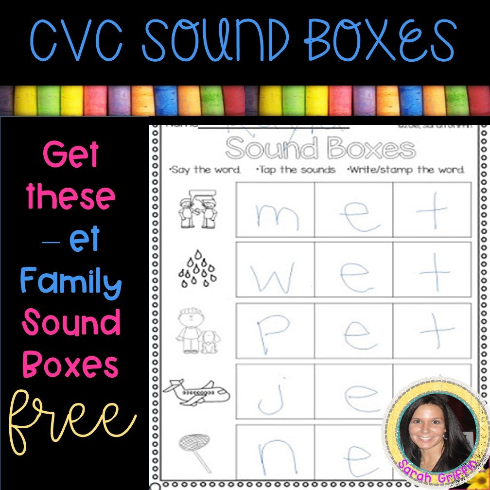 Free Printable Cvc Worksheets 13 Free Cvc Worksheets and Word Family Activities