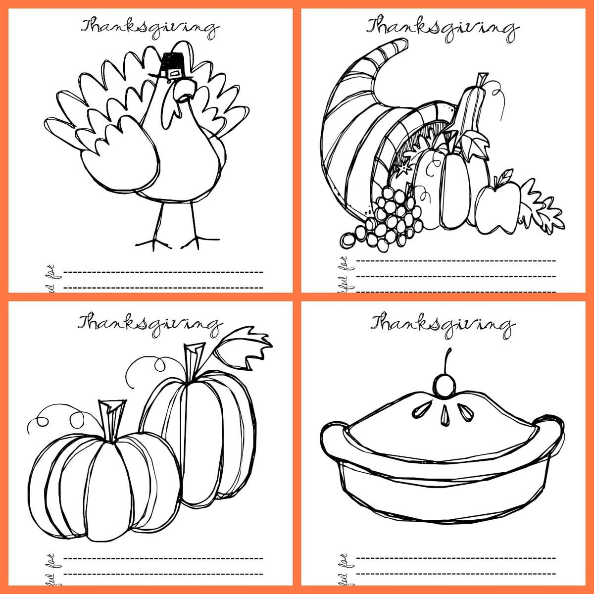 thanksgiving coloring pages square1