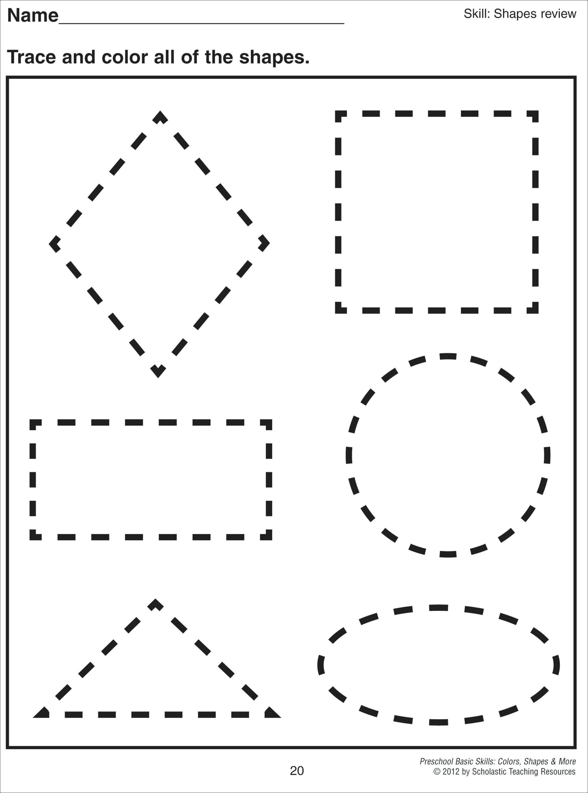 Geometric Shape Pattern Worksheets Worksheet solid Shapes In Math toddler Play School
