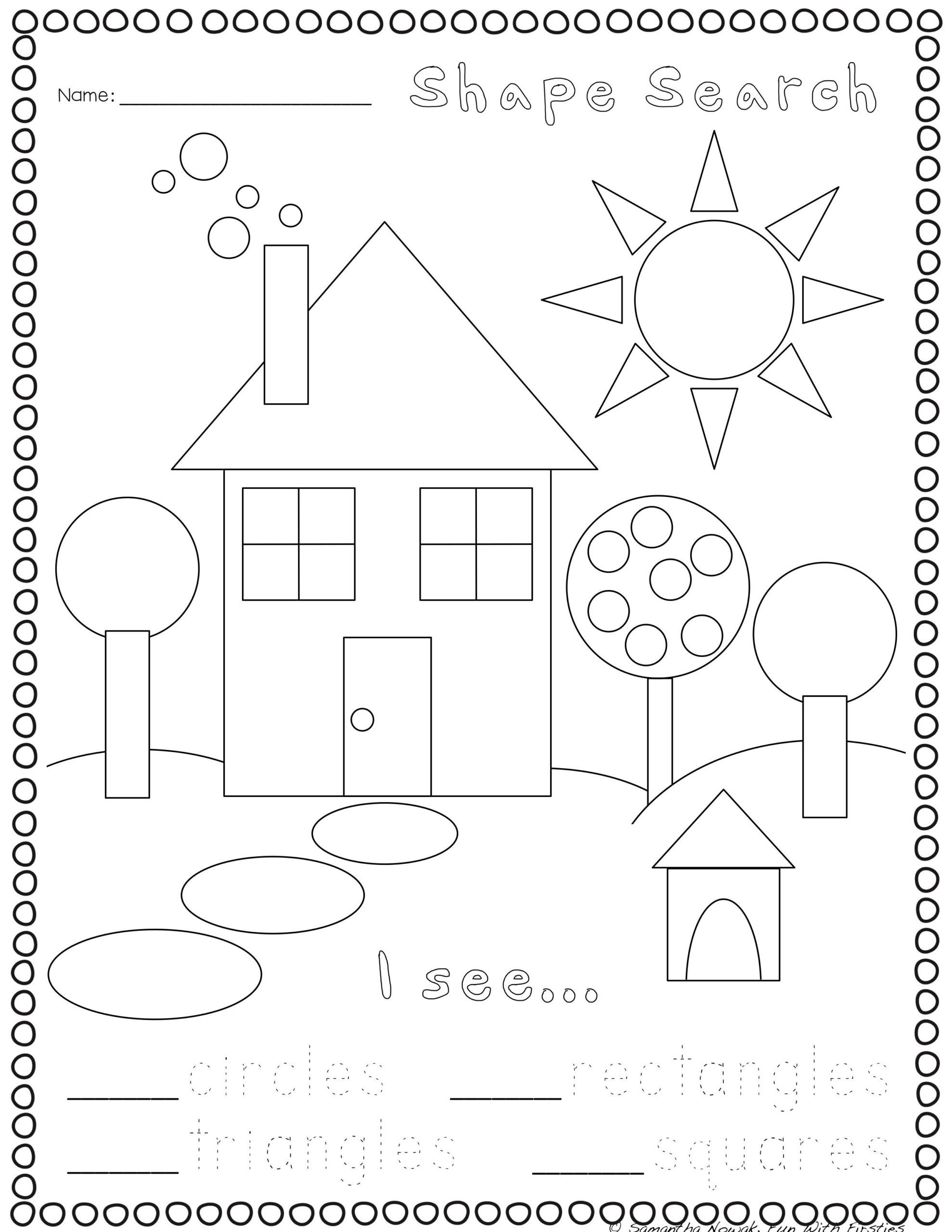 Geometric Shapes Patterns Worksheets Print Go Geometry Practice Worksheets Shapes Number and