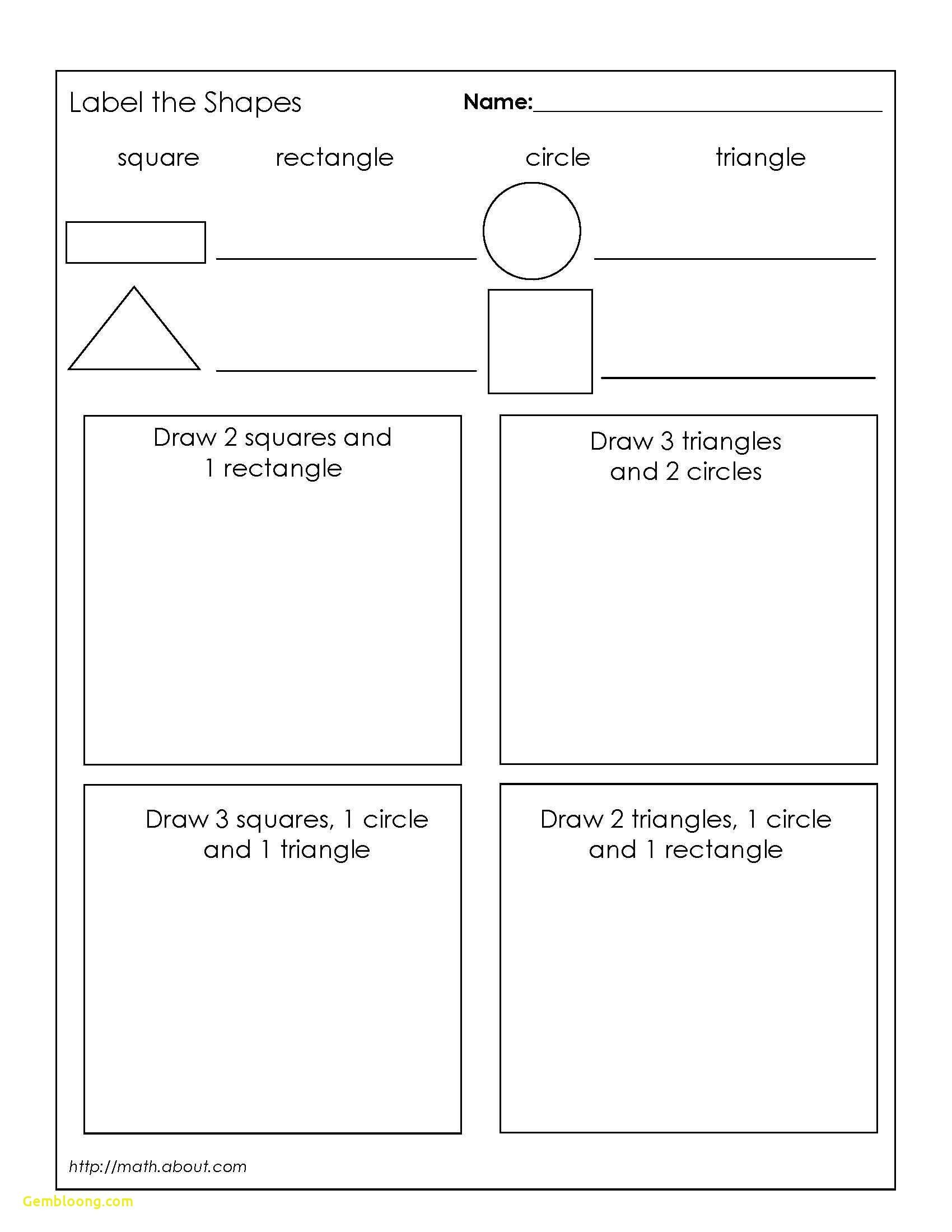 Geometric Shapes Worksheet 2nd Grade Inspirational Free Printable Addition Worksheets for 2nd
