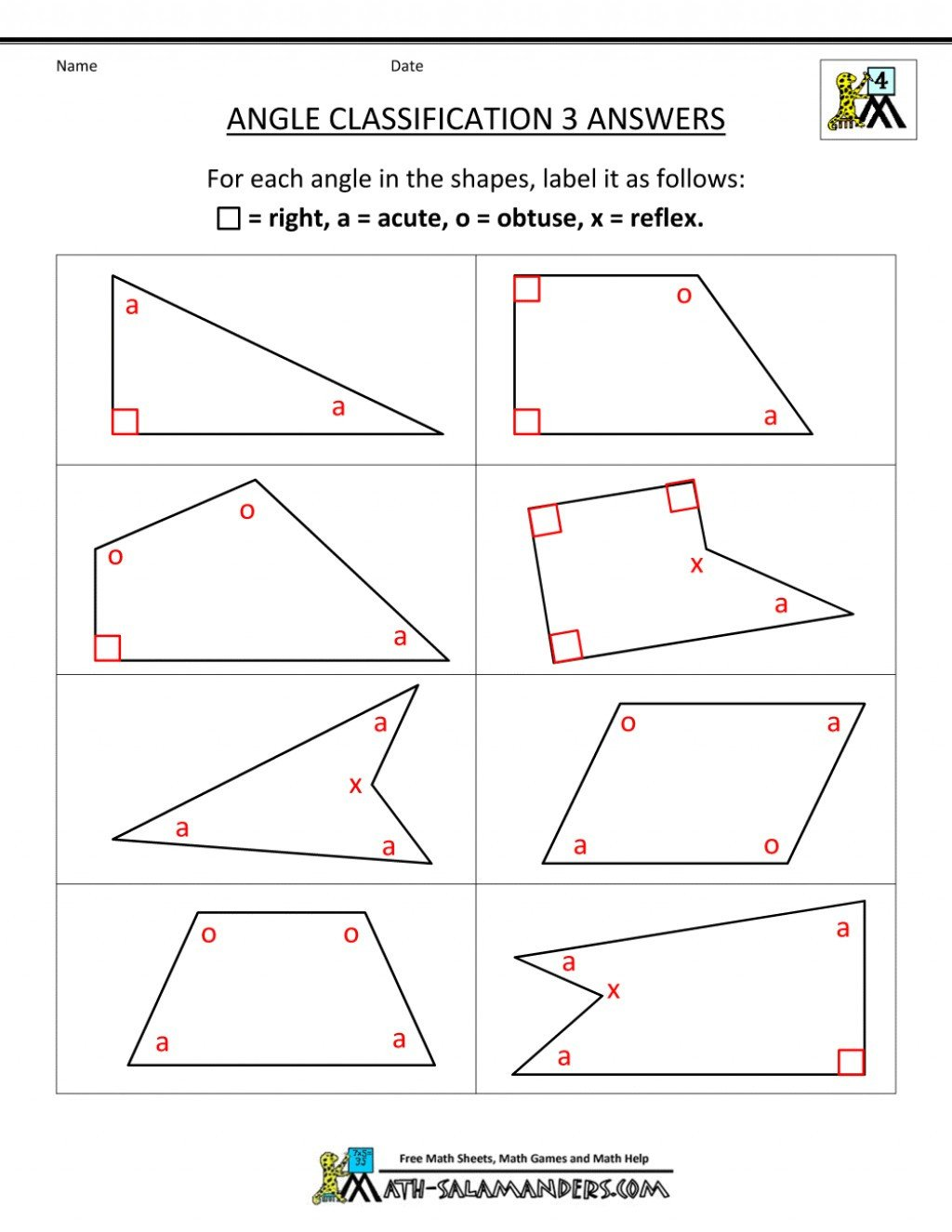 Geometric Shapes Worksheet 2nd Grade Math Worksheet Grade Geometry Worksheets Printable and