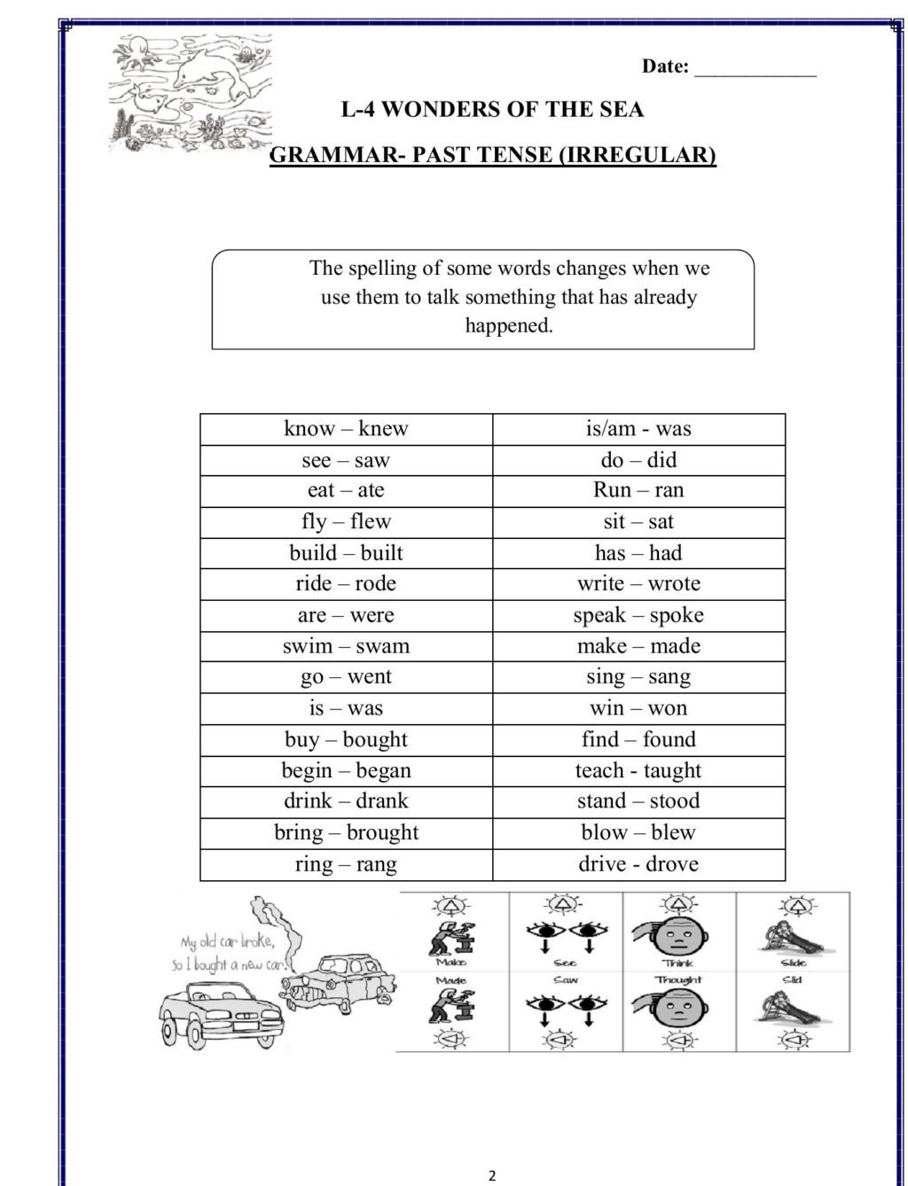 Grammar 3rd Grade Worksheets Worksheet Second Term Worksheets English Grade Indian