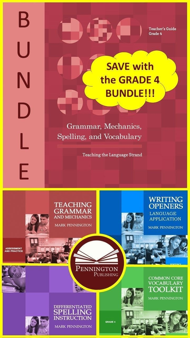 Grammar Mechanics Worksheets Grammar Mechanics Spelling and Vocabulary Grades 4 5 6