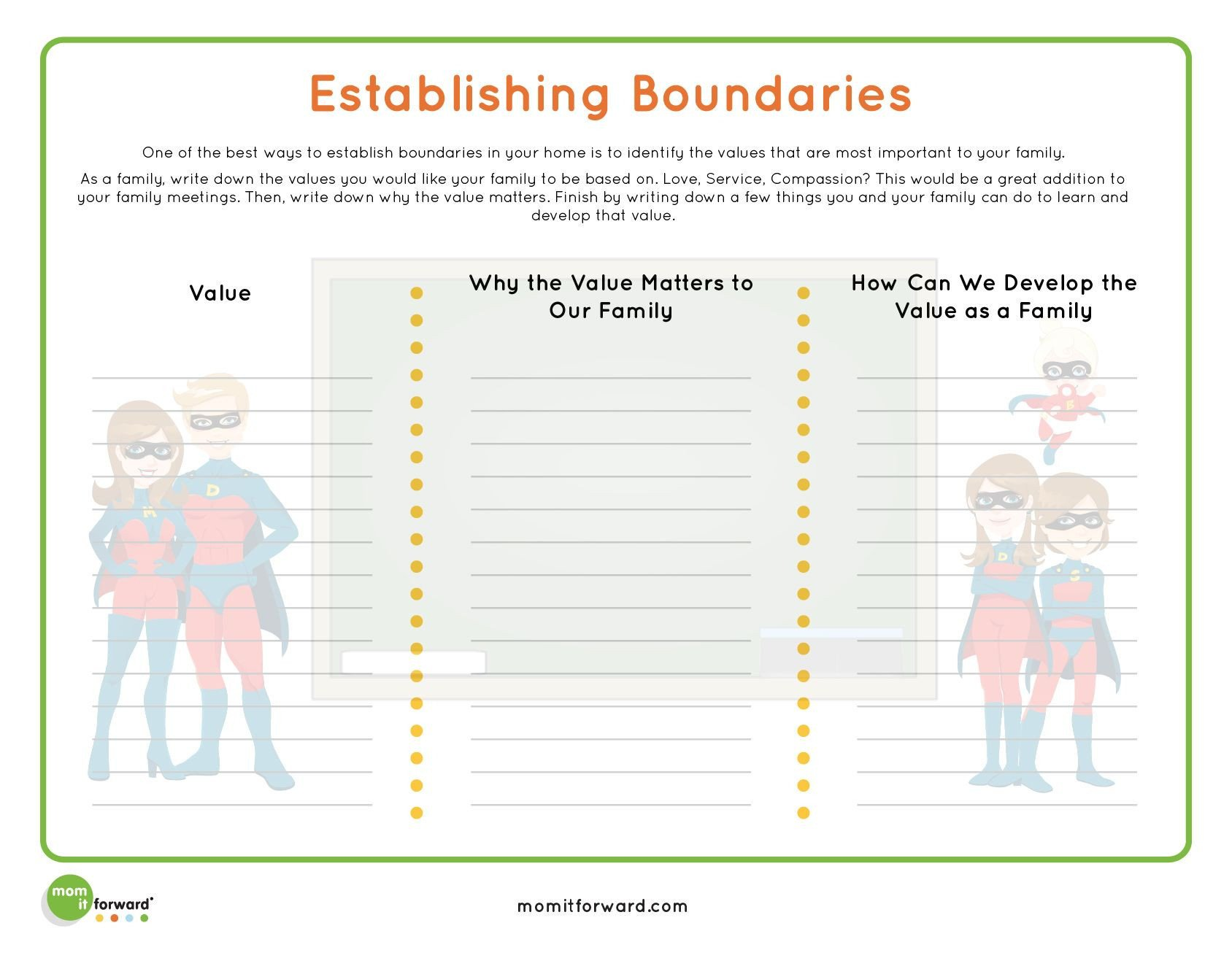 Healthy Family Relationships Worksheets Honesty In Relationships Worksheet