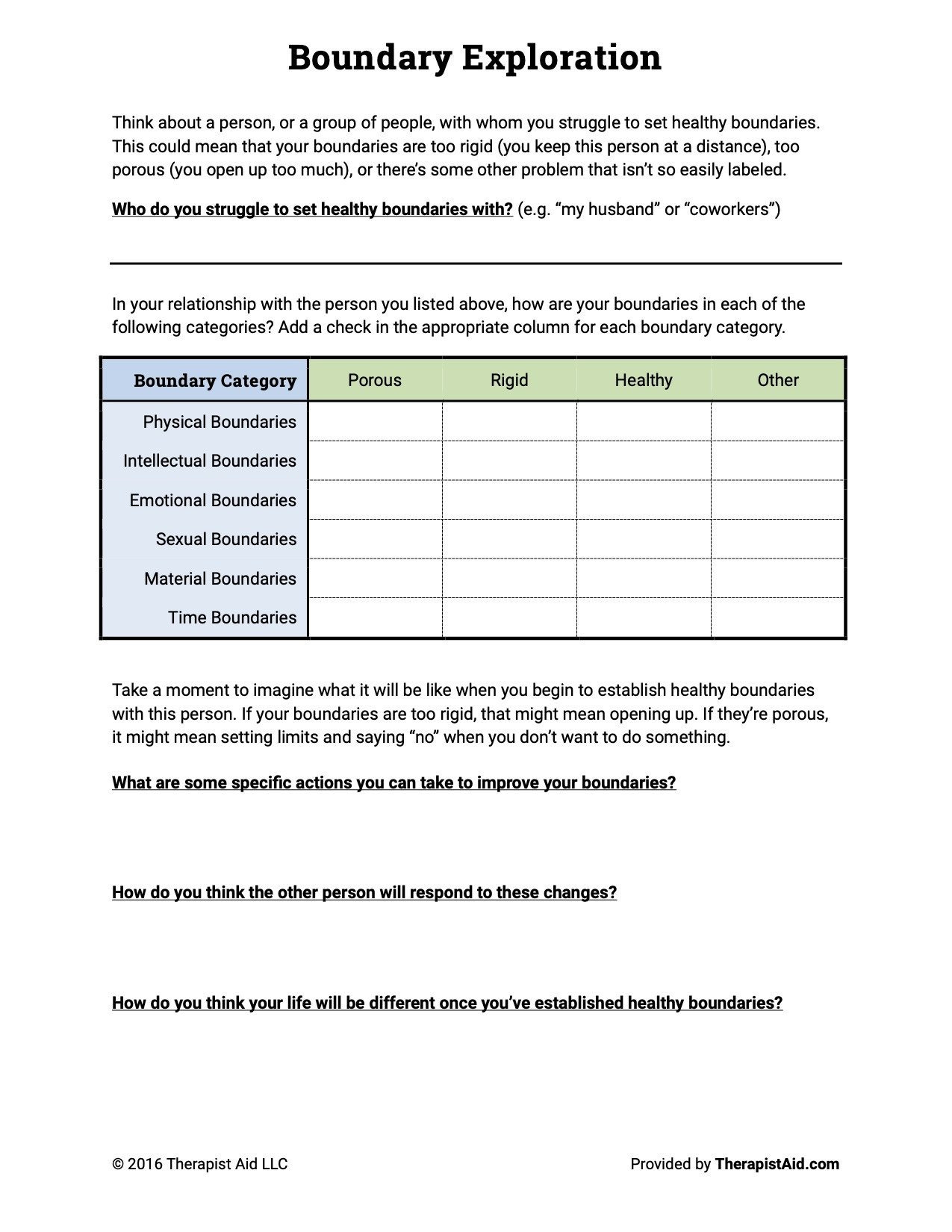 Healthy Family Relationships Worksheets these Free therapy Worksheets Could Save Your Mental Health