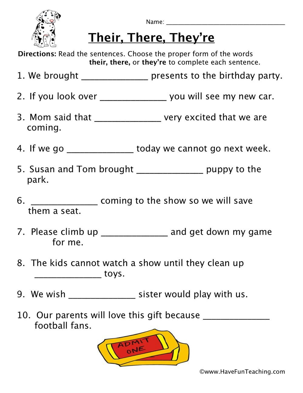 Homophones Worksheets 4th Grade their there they Re Homophones Worksheet