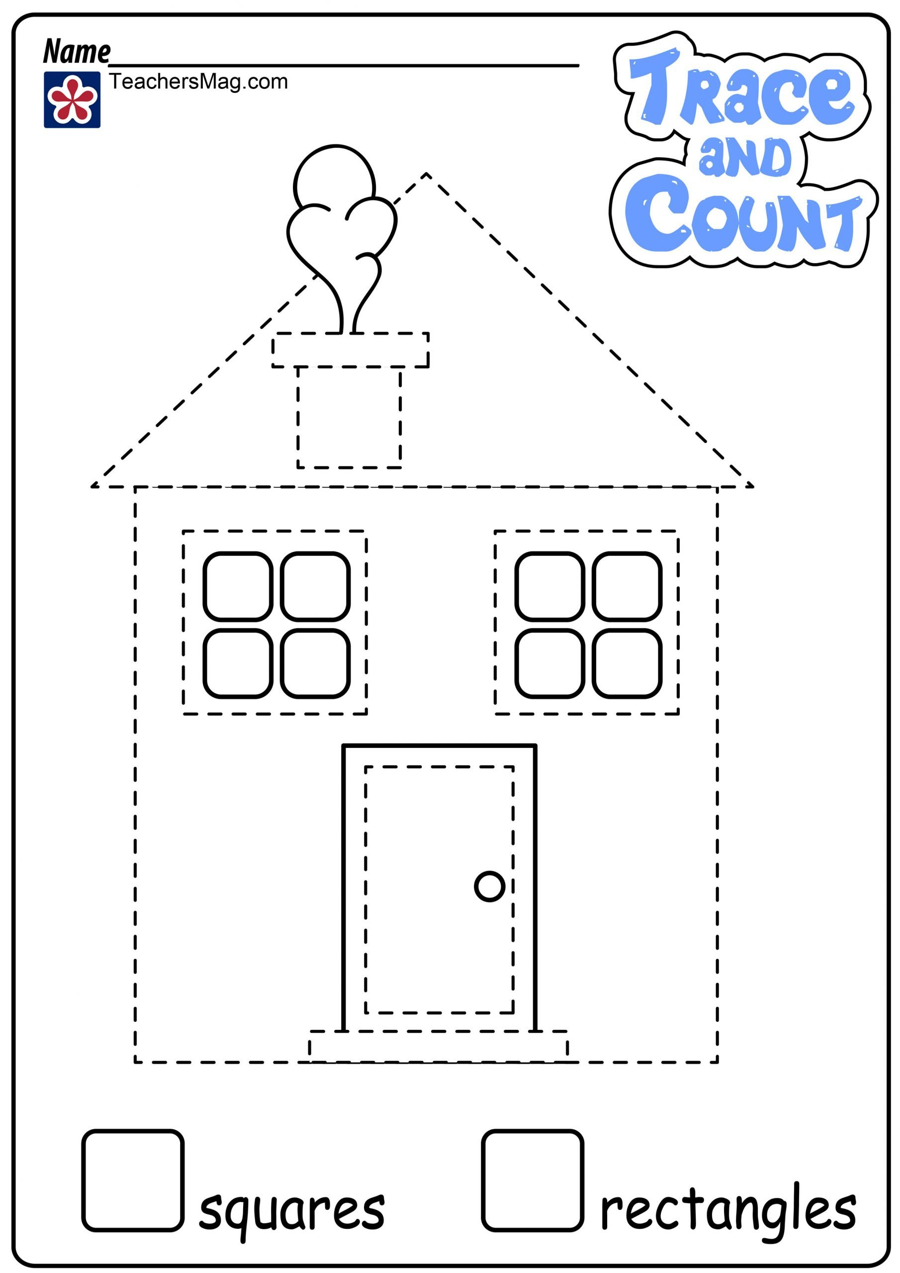 Identifying 2d Shapes Worksheets Identifying 2d Shapes Worksheet