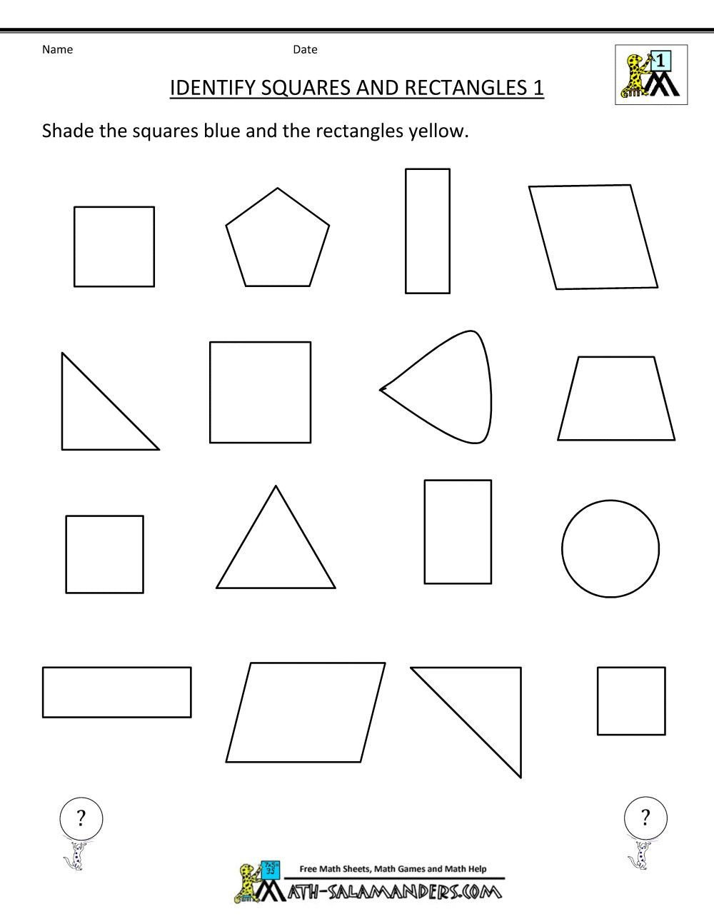 Identifying 2d Shapes Worksheets Pin On Worksheets for Kids